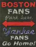 Yankee Fans Go Home Art Print