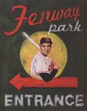 Fenway Park Entrance Art Print