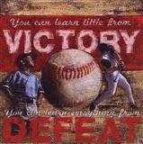 Victory - Baseball Art Print