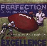 Perfection - Football Art Print