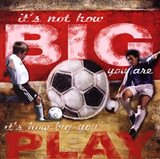 Big Play - Soccer Art Print