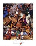 Dreaming Big (Basketball) Art Print