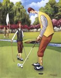 Putting for Birdie Art Print
