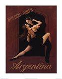 Argentina Art Print