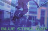 Blue Steel Gap Art Print