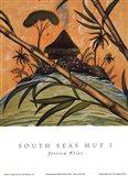South Seas Hut I Art Print