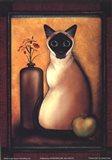 Framed Cat I Art Print