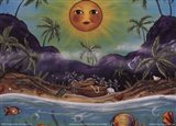 Carribean Cove Art Print