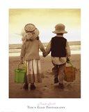 Beach Stroll Art Print
