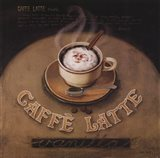 Cafe-Latte Art Print
