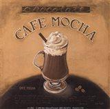 Cafe-Mocha Art Print