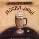Mocha Java Art Print