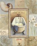 Tranquil Bath II Art Print