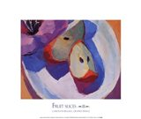 Fruit Slices III Art Print