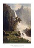 Bridal Veil Falls, Yosemite Art Print