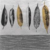 Row of Leaves Art Print
