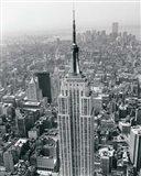 Empire State Building / World Trade Center Art Print