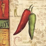 Hot & Spicy I Art Print
