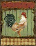 Rooster Portraits I Art Print