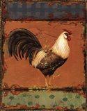 Rooster Portraits III Art Print