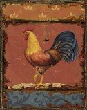 Rooster Portraits IV Art Print