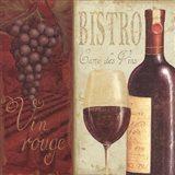 Wine List I Art Print