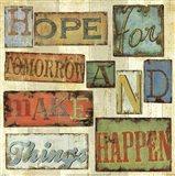 Believe & Hope II Art Print