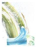 Watch the Waves Art Print