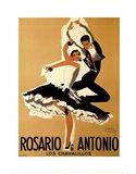 Rosario & Antonio, 1949 Art Print