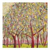 Gold Orchard Art Print