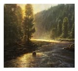 Morning in the Wilderness Art Print