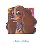 A Perfect Little Lady Art Print