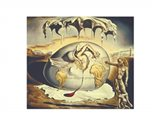 Geopoliticus Child Watching the Birth of the New Man, c.1943 Art Print