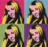 Hannah Montana: Secret Pop Star (quad) Art Print