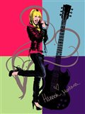 Hannah Montana: Let it Rock Art Print