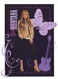 Hannah Montana: Golden Glamour Girl Art Print