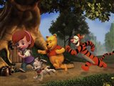My Friends Tigger & Pooh Art Print