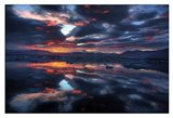 Icelandic Sunset Art Print