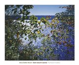 Dark Autumn Leaves Art Print