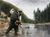 Fishing the Gallatin Art Print