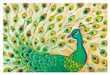 Pretty Pretty Peacock Art Print