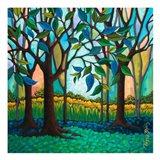 Whispering Woods Art Print