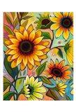 Sunflower Power I Art Print