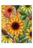 Sunflower Power II Art Print