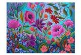 A Colorful Conversation Art Print