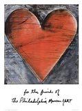 The Philadelphia Heart Art Print