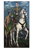 Saint Martin and the Begger 1597-99 Art Print