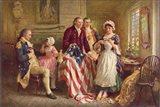 Betsy Ross, 1777 Art Print