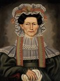 Lady of Squire Williams House, ca. 1829 Art Print