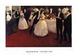 The Buffet, 1884 Art Print